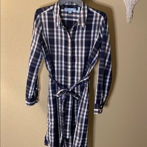 Belted plaid dress Draper James 12